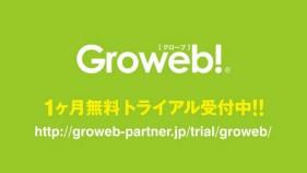 Webのアクセス解析・分析レポート「Groweb!(グローブ)」
